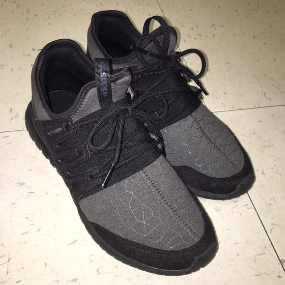 Adidas zapatos zapatillas de deporte gris negro poshmark Ortholite